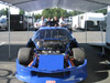 thumbnail image of Specialty Engineering blue GT1 Camaro with hood off and racing engine exposed