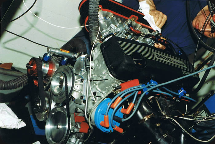 Specialty Engineering engine tuning Nissan KA24 on the dyno