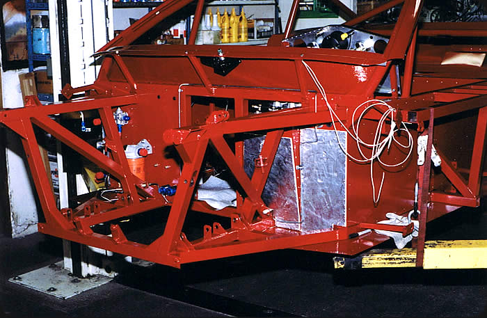 Specialty Engineering Race Car Chassis